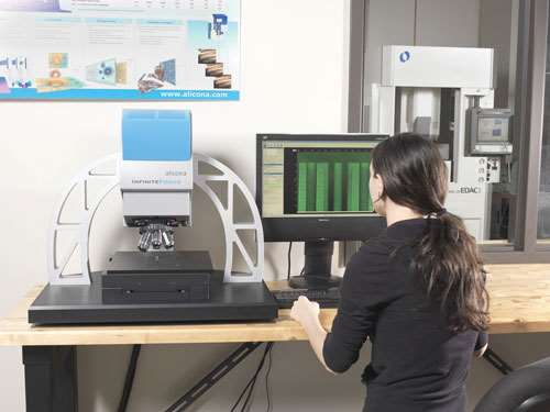 Infinite Focus 3D metrology system