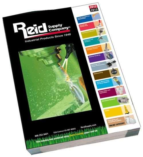 Reid Supply's 2012-1013 industrial products catalog
