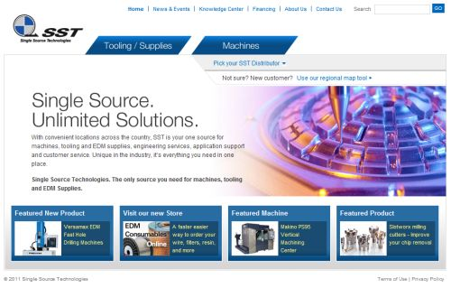Single Source Technologies' new website