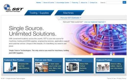 Single Source Technologies' new website