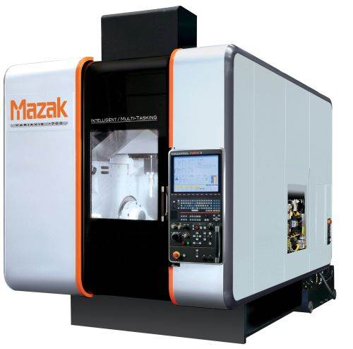 Variaxis i-700 from Mazak is a simultaneous five-axis, multitasking VMC