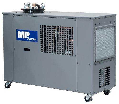 MP Systems integrated chiller and high-pressure coolant system