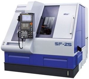 Star CNC Machine Tool SF-25 turn-mill lathe