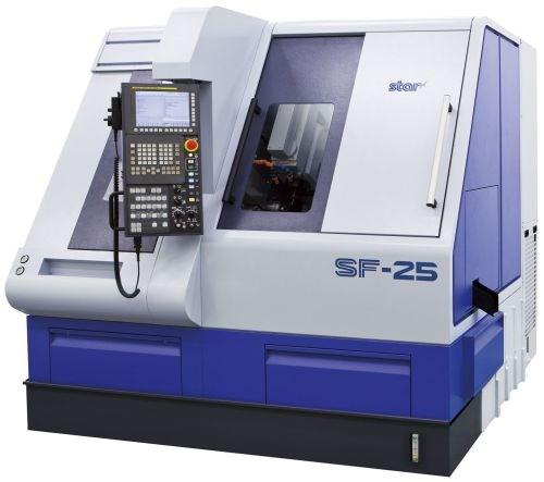 Star CNC Machine Tool SF-25 turn-mill lathe