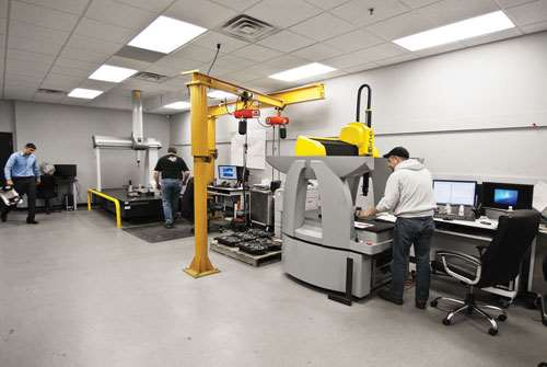 Griffin's temperature-controlled quality lab