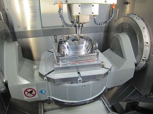 rotary table and trunnion