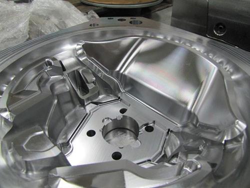 steering wheel mold cavity