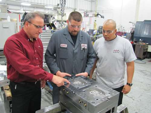 Rick Hecker, Gary Schulz and Brandan Johnson