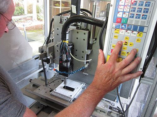 industrial benchtop CNC mill
