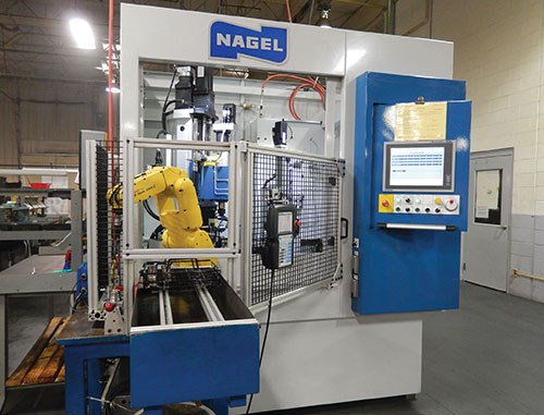 integrated robot in Nagel Eco 40