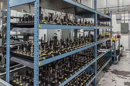 rack of HSK-A63 holders