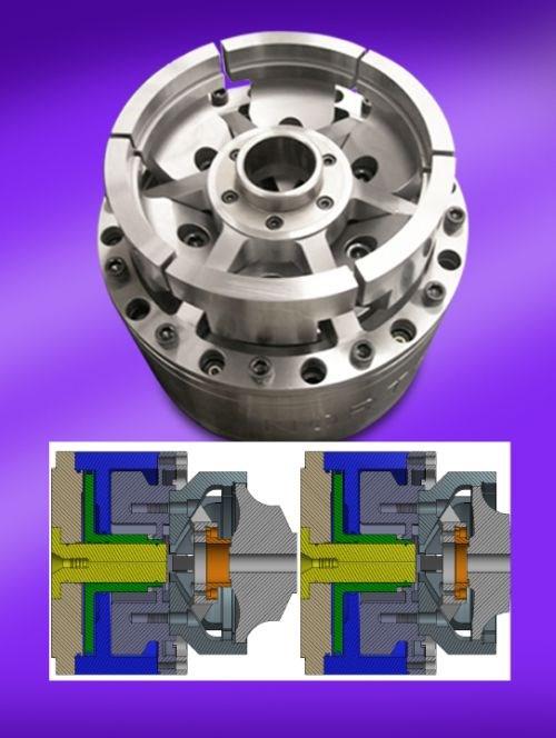Northfield Precision DPH1000W diaphragm chuck