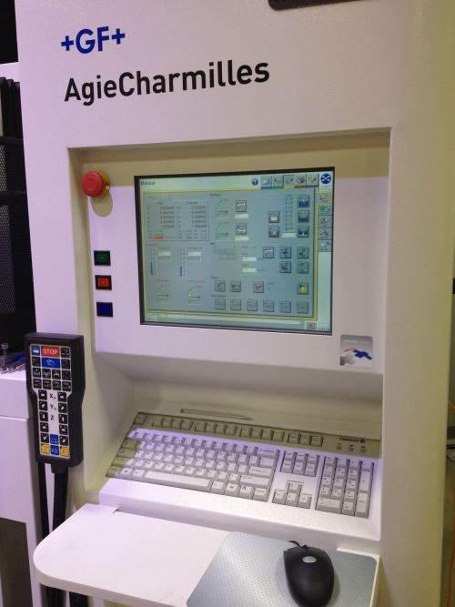 GF Machining Solutions AC Cut HMI for wire EDM