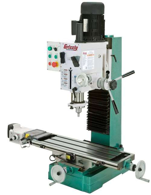Grizzly Industrial model G0761 mill/drill