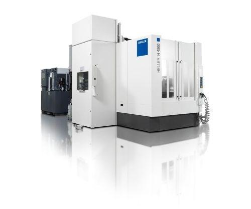 Heller H 4500 four-axis HMC