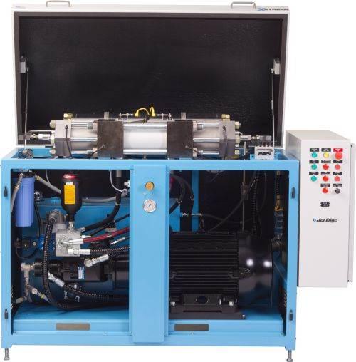Jet Edge X-Stream xP90-50 waterjet intensifier pump