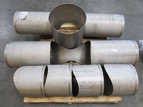 Examples of cut pipes