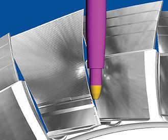 PowerMill CAD/CAM blisk