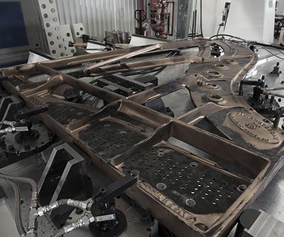 Steinway tone board plate