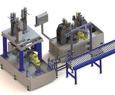 Nagel gear processing cell
