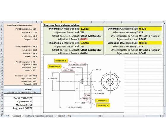 sampling inspection spreadsheet