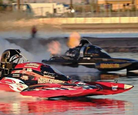 Nitrochondriac racing boat