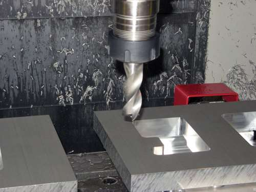 S-carb end mill