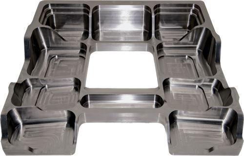 titanium aircraft component