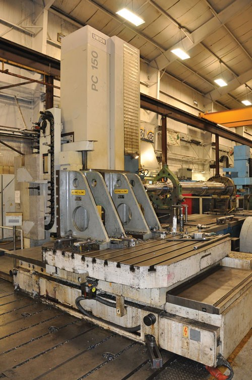 Union horizontal boring mill
