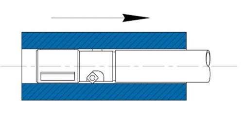 pull boring diagram
