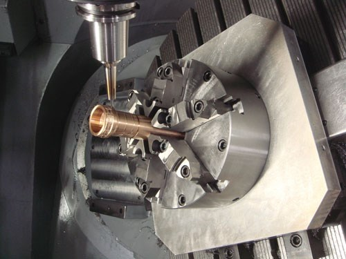 continuous five-axis machining