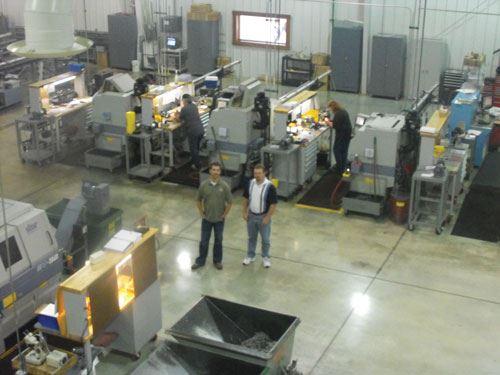 Swiss-type machining