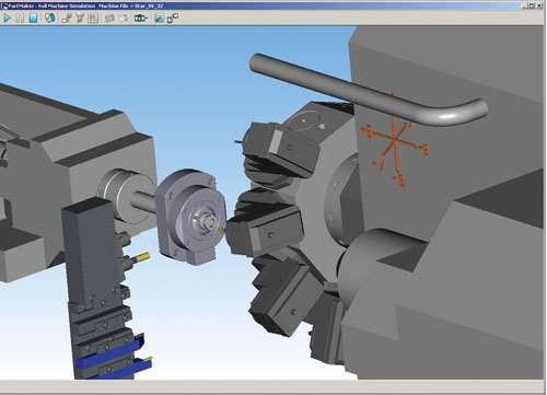 machining simulation