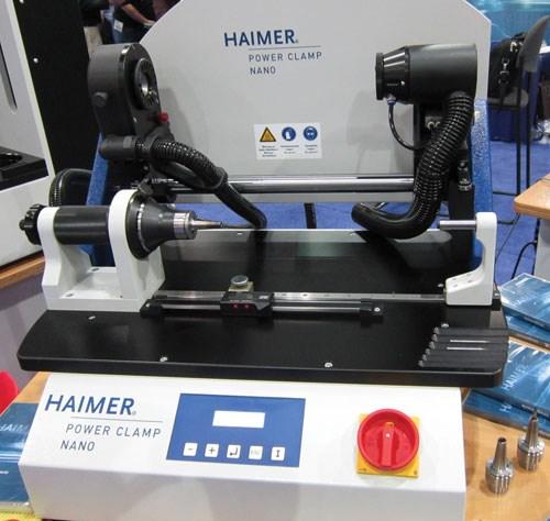 haimer shrink fit machine tool holder