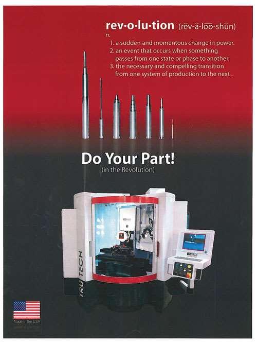 Tru Tech Revolution perimetric profile grinder