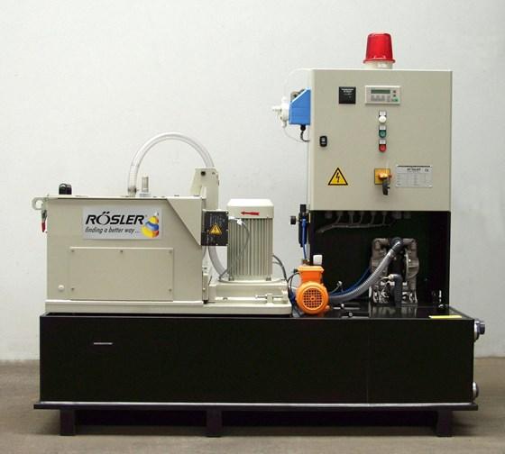 Rosler Z800 HA semi-automatic centrifuge