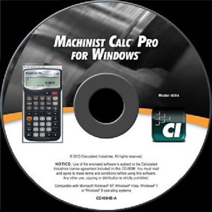 Calculated Industries Machinist Calc Pro
