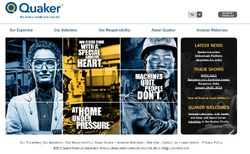 Quaker Chemical website