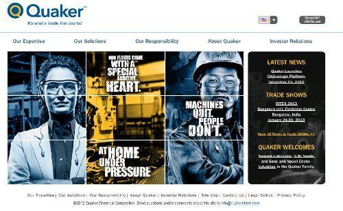 Quaker Chemical website
