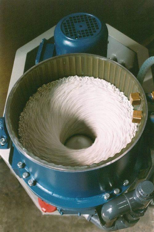 Rosler FKS centrifugal disk finisher
