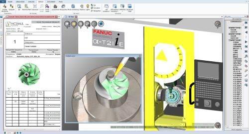 Spring Technologies WYSIWYC NCSimul Player 9.1 w/ Panasonic Toughpad FZ-G1