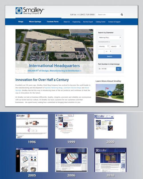 Smalley Steel Ring Company websites