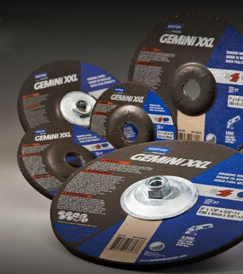 Norton Abrasives Gemini XXL grinding wheel