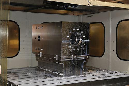 machining a fluid end