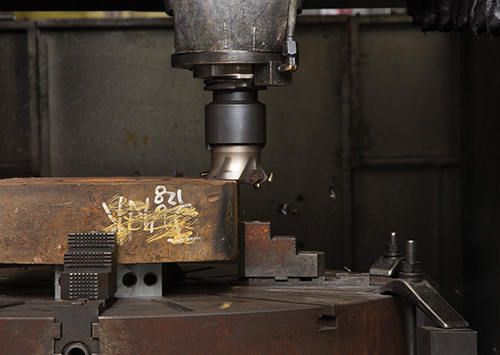 Ingersoll Hi-QuadXXX face mill