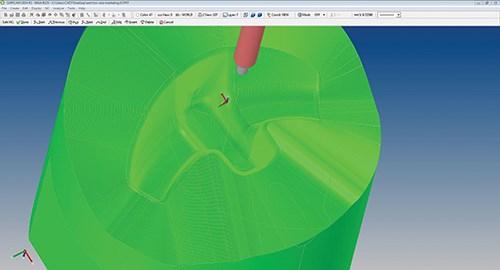 Surfware's 3D offset