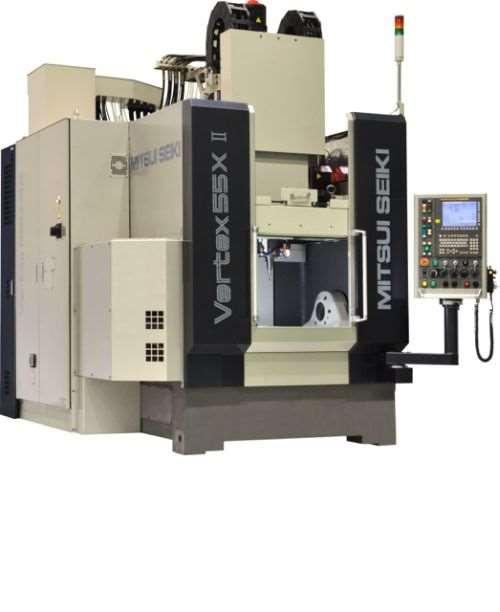 Vertex 55X II five-axis machine