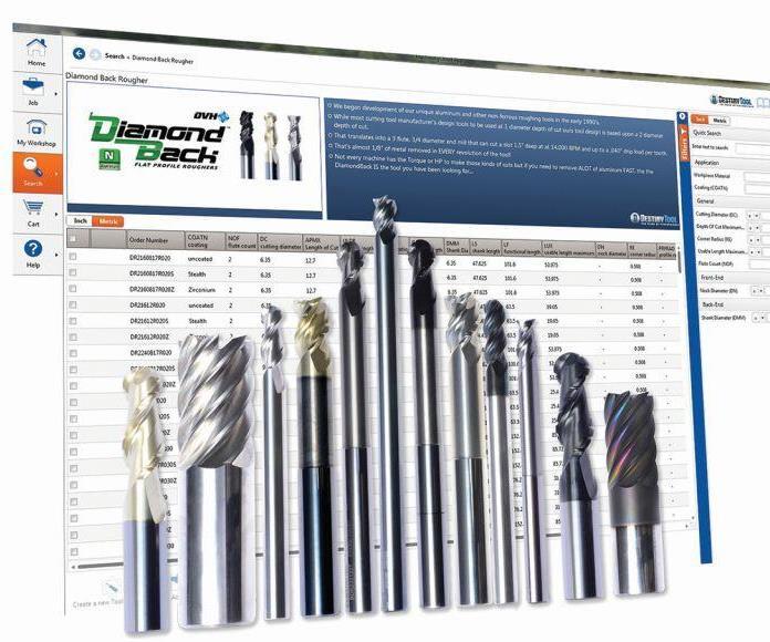 Destiny Tool catalog