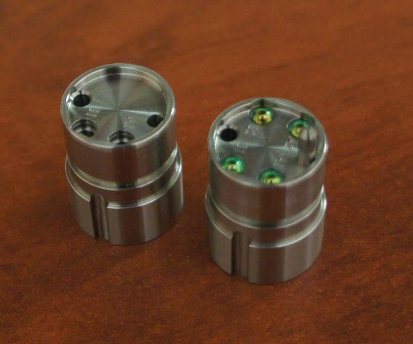 fiber-optic connector inserts