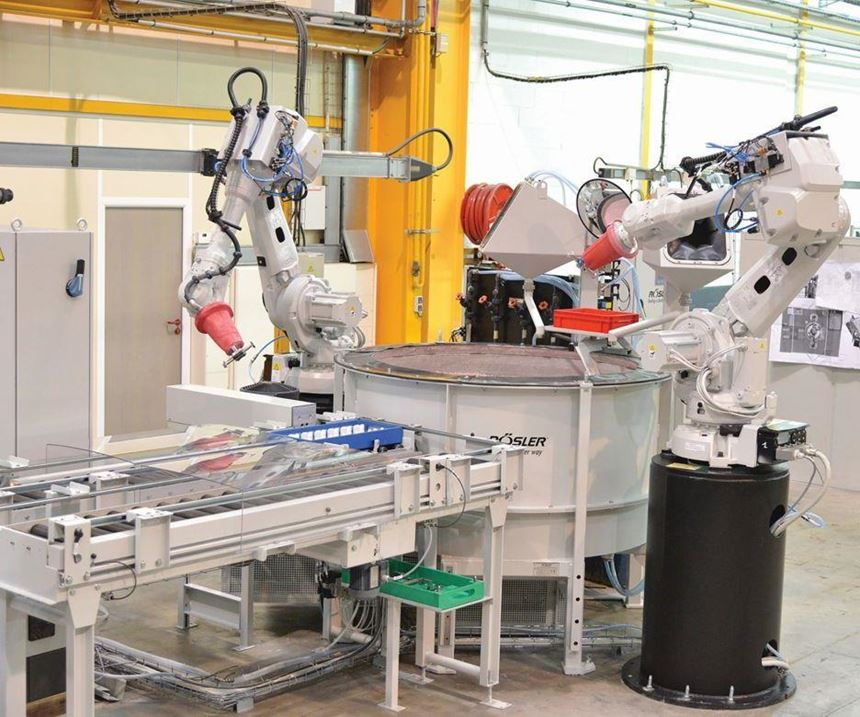 robots for finishing